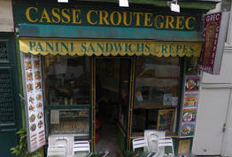 Casse Croute Grec Paris 05