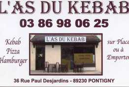 L'as Du Kebab Pontigny