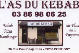 L'as Du Kebab Pontigny