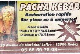 Pacha Kebab Rodez