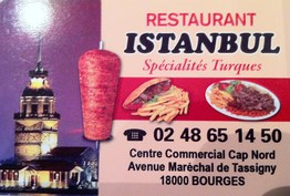 Restaurant Istanbul Bourges
