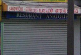 Restaurant Anatolie Paris 19