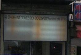Sidi Boussaïd Paris 10