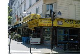 Sandwich Pizza Paris 14