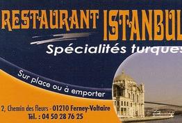 Restaurant Istanbul (Kebab) Ferney-Voltaire