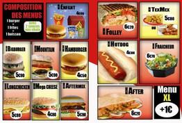 After fast food Rive-de-Gier