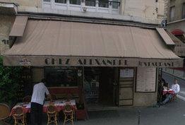 Chez Alexandre Paris 01