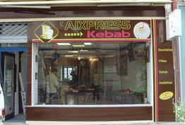 L'Aixpress kebab Aix-les-Bains