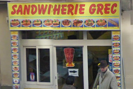 Sandwicherie Grec Paris 15