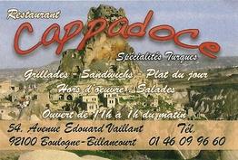 Cappadoce Boulogne-Billancourt