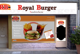Royal burger Jargeau