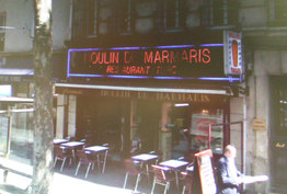 Moulin de Marmaris Paris 17
