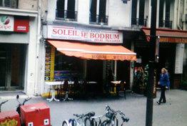 Le soleil de Bodrum Paris 19