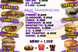 Snack avenue Dijon