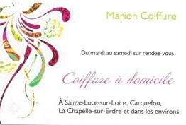 Marion Coiffure Sainte-Luce-sur-Loire