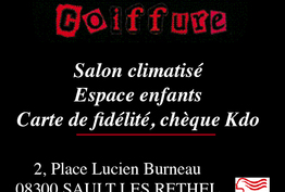 Caract'Hairs Coiffure Sault-lès-Rethel