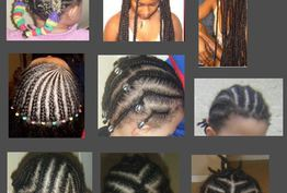 Coiffure afro tresses nattes Cherbourg-Octeville