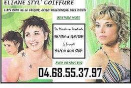 Eliane Styl' Coiffure Villelongue-dels-Monts
