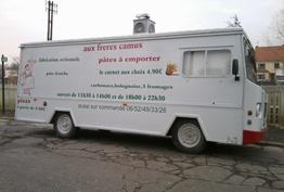 Pizza aux frères Camus Marconnelle