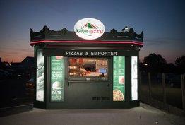 Le kiosque à pizzas Saint-Vit