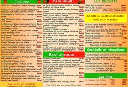 La Pizz à Nico Bordeaux