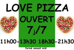 Love Pizza Lézignan-Corbières