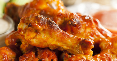 Les chicken wings