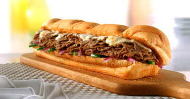 Le steak and cheese de chez Subway