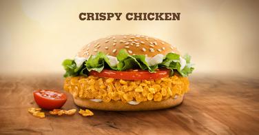 Le Crispy Chicken de chez Burger King