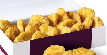 Mc Nuggets par 20 chez Mac Donald's