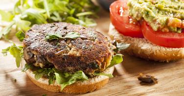 Recette de hamburger végétarien maison