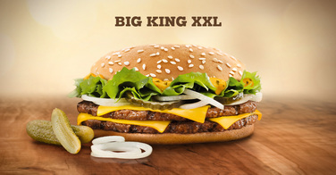 Le Big King de chez Burger King
