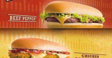 Les longs burgers de chez Quick