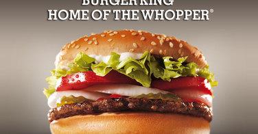 Le Whopper de chez Burger King