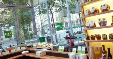 Exki, fast food haut de gamme, frais et bio