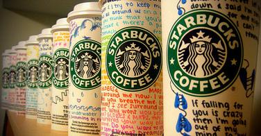Les gobelets de Starbucks sont désormais réutilisables