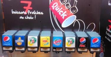 Quick quitte Coca Cola pour Pepsi