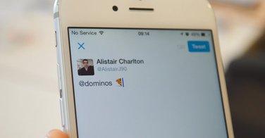 Dominos pizza ouvre la commande par tweet !