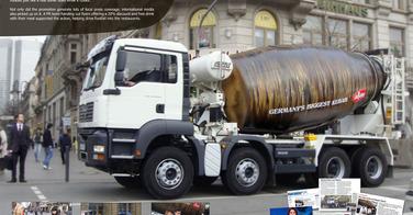 Le camion kebab de DoyDoy en Allemagne