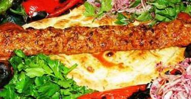 Zoom sur le Adana Kebab