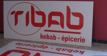 Sabrina Letessier, gérante du Tibab Kebab