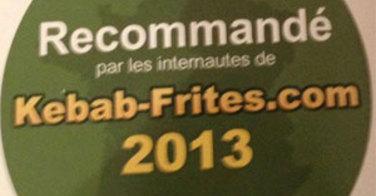 Recommandé par les internautes de Kebab-Frites