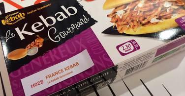 Composition des kebabs de supermarchés