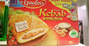 Pané Kebab Sauce Blanche - Le Gaulois