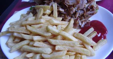 Sandwich kebab frites - Pamukkale à Boulogne sur mer