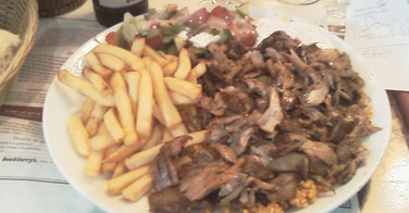 Assiette Kebab - Anamour à Boulogne Billancourt