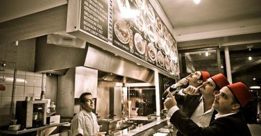 Sandwich Kebab - Restaurant Mula à Paris