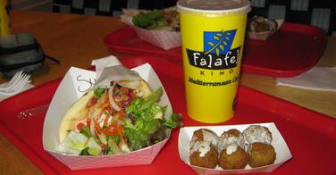 Falafel King - Boulder, Colorado: Shawarma et falafel