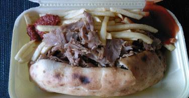 Sandwich Kebab - Alésia Food à Paris