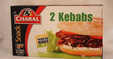 Kebab Charal surgelé